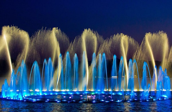 SINOVO AC Drive Applied In MAYLAYSIA PALACE MUSIC FOUNTAIN