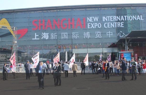 SINOVO Unite CA168 Network Debut in 2014 Shanghai International Industry Fair-1