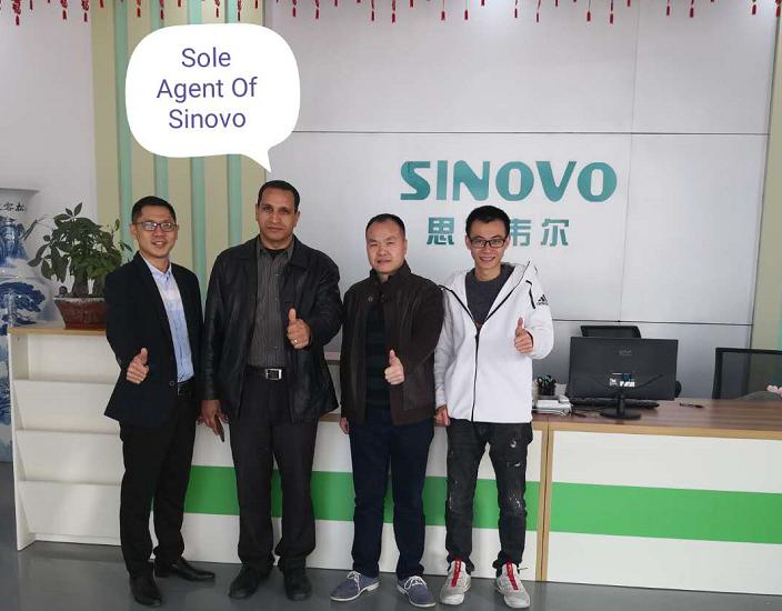 Sinovo Signed Egypt Distributor Agreement
