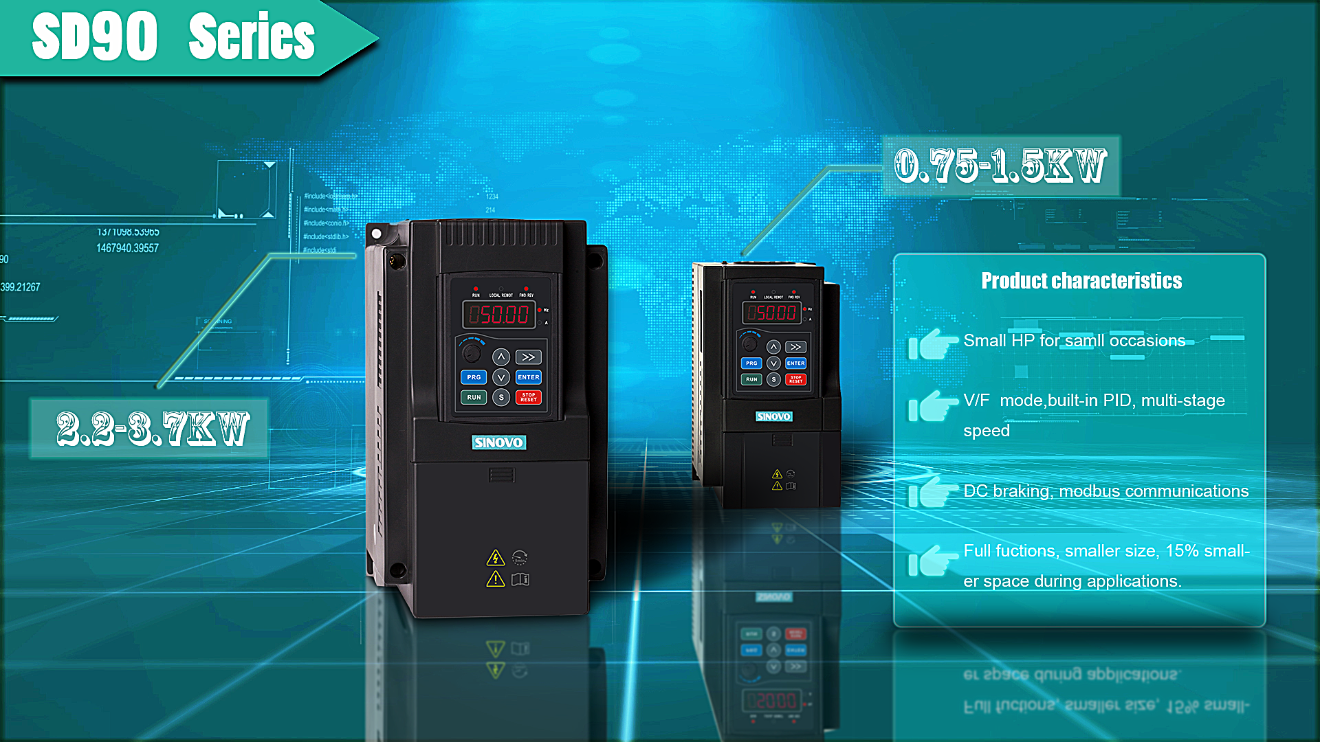 High Performance Universal VFD